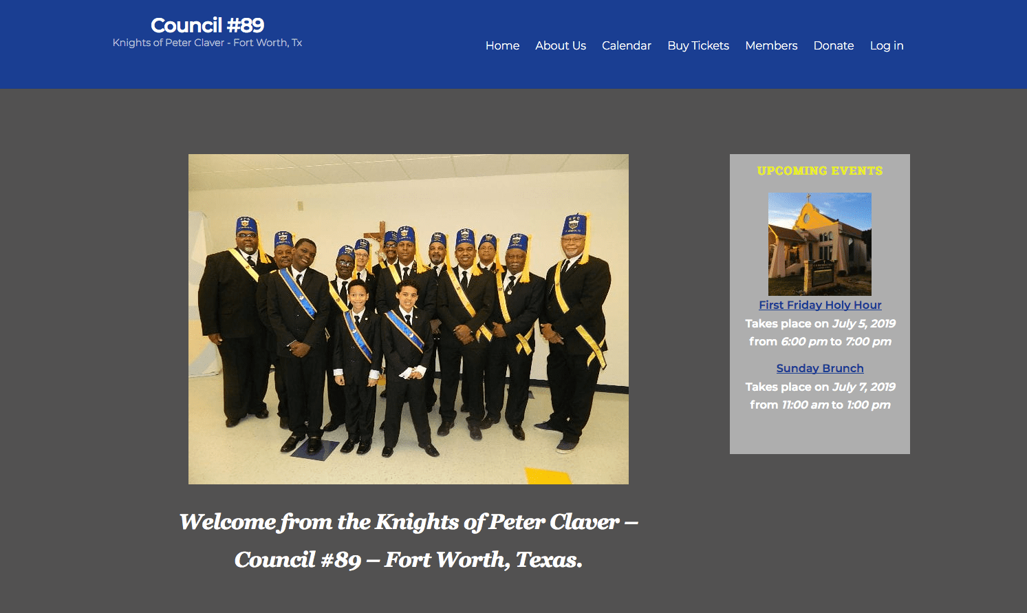 Knights of Peter Claver - Fort Worth